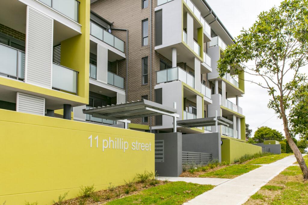 11 phillip street apartment complex
