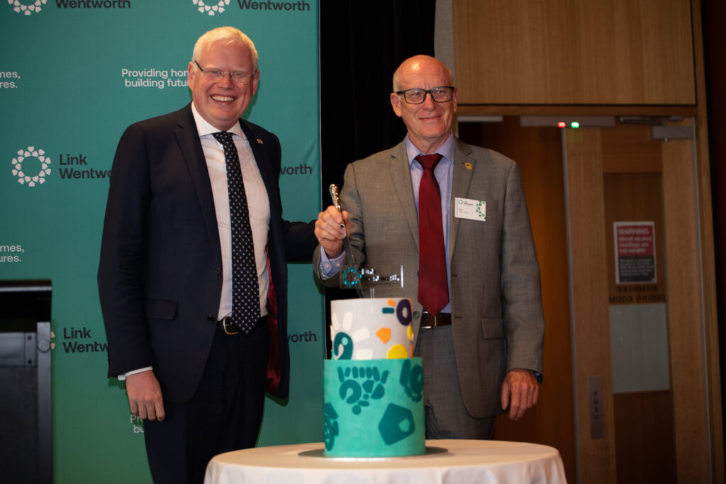 Link Wentworth Housing official launch.
