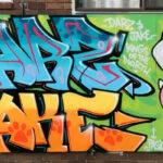 Streetwork mural brightens Dario's backyard