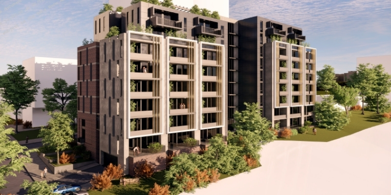 Affordable housing development Lachlan's Line in Macquarie Park